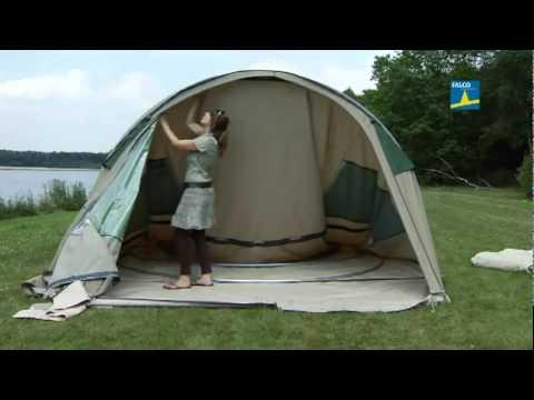 Opzetinstructie Falco tenten & Opzetinstructie Falco tenten - YouTube