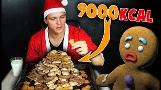 2,5KG PIERNIKÓW CHALLENGE (9000+ KCAL) | [Epic Cheat Meal]