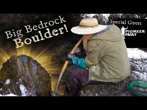 Gold Found Under Big Boulder!