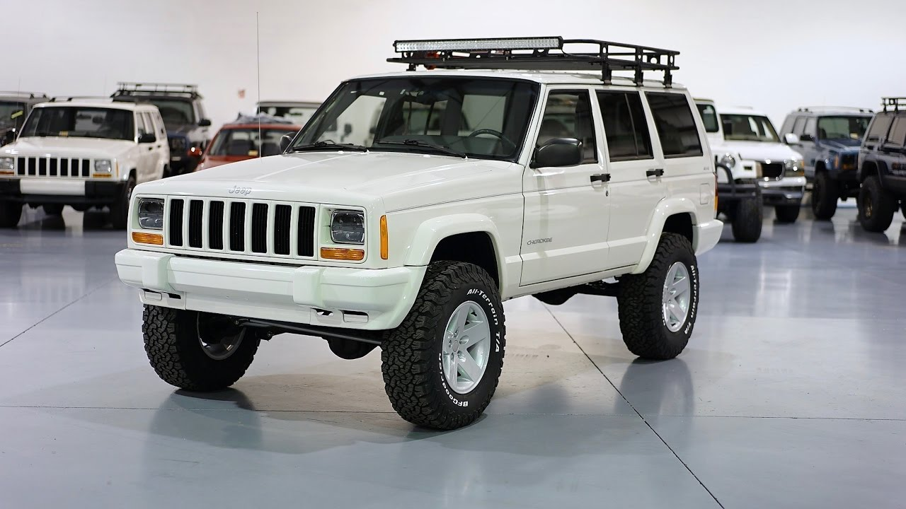 Cherokee Xj For Sale >> Davis AutoSports CHEROKEE XJ FOR SALE / ONLY 25K MILES / LIFTED AND MORE - YouTube