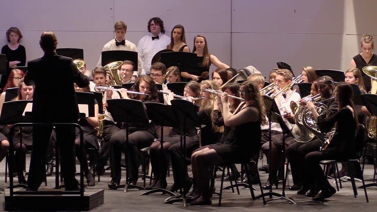 Union Pines HS Wind Ensemble - March Grandioso - arr. Andrew Glover