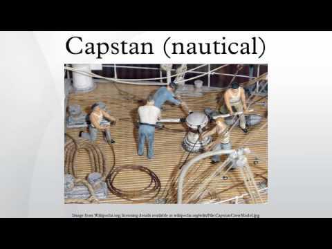 Capstan (nautical)