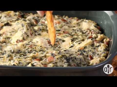 How to Make Hot Spinach and Artichoke Dip | Appetizer Recipes | Allrecipes.com