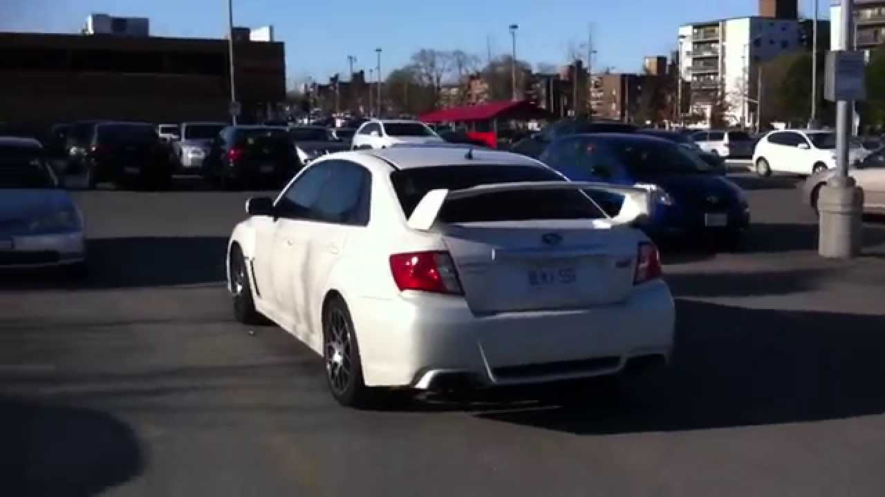 2012 Subaru WRX STI  GV  w Custom Rims  YouTube