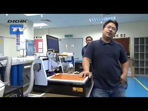PCB Prototyping Machine MITS Design Pro Part 1 - Training   Didik TV