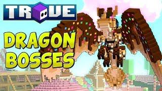 TROVE DRAGON BOSSES! | Trove Megalithic Dragon Boss Update