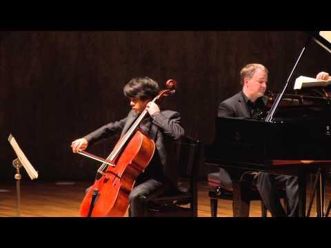 Yuki Ito 伊藤悠貴:Brahms Cello Sonata No.1 in e minor, op.38 / ブラームス:チェロ・ソナタ 第1番 ホ短調 作品38