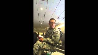 Kelsie Hoover Uses Fake Michael Cipriani Persona, Poses As Soldier At Baltimore Washington Airport