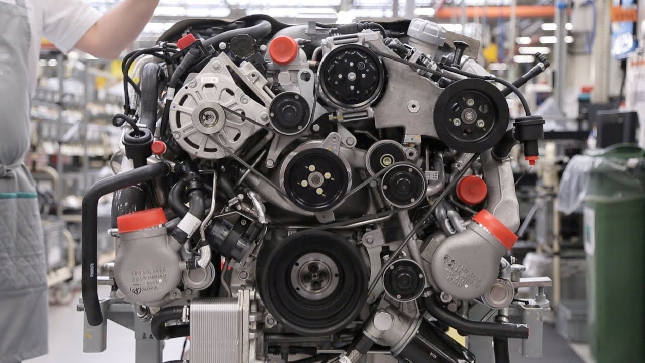 Bentley factory v8 engine youtube for Where can i get a motor vehicle report