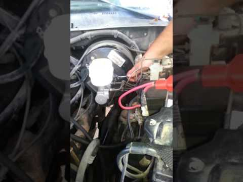 how to replace 98 dodge ram brake master cylinder