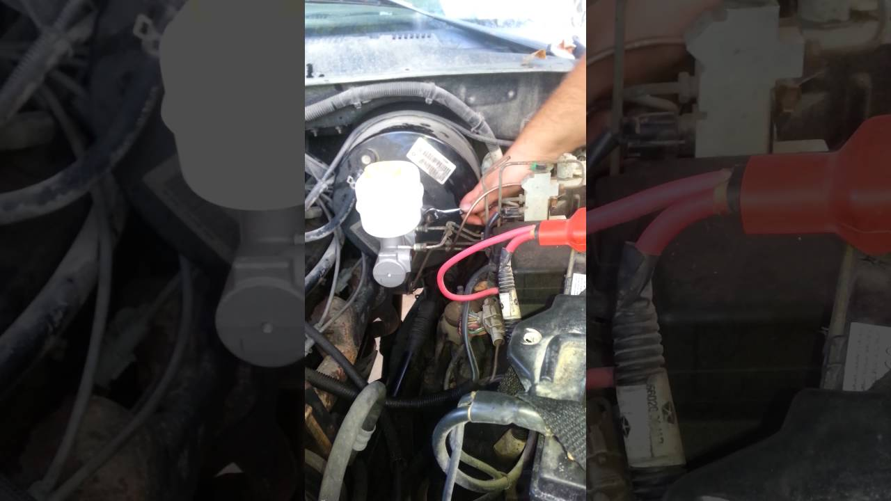 How To Replace 98 Dodge Ram Brake Master Cylinder Youtube