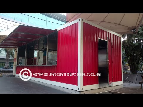 Shipping container cafe and kitchen manufacturer in Mumbai and Pune