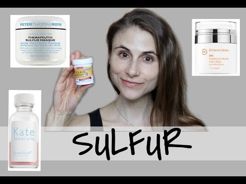 SULFUR MASKS AND LOTIONS FOR CLEAR SKIN| DR DRAY - YouTube