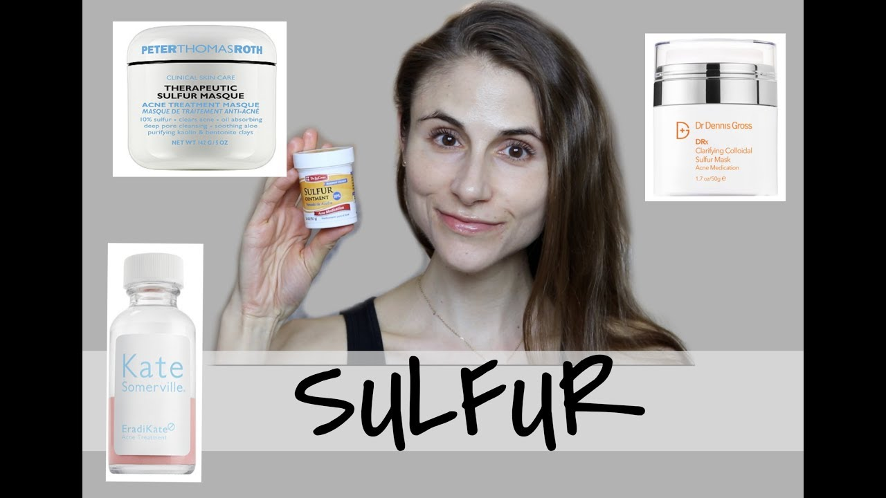 SULFUR MASKS AND LOTIONS FOR CLEAR SKIN| DR DRAY