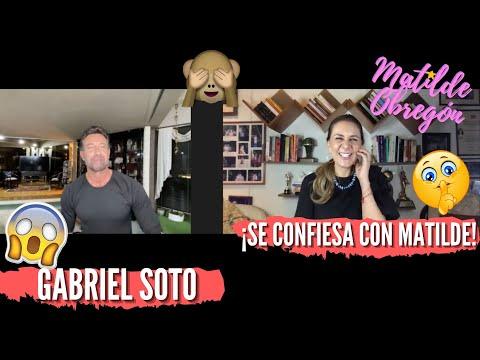 GABRIEL SOTO ¡todo lo que querías saber de él!   Entrevista con Matilde Obregón