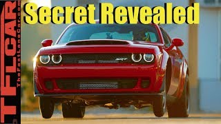 Secret to the Dodge Demon's Record Setting 9.65 Quarter Mile Revealed