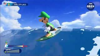 Mario and Sonic at the Tokyo 2020 Olympic Games Surfing 825.322 (New PB)