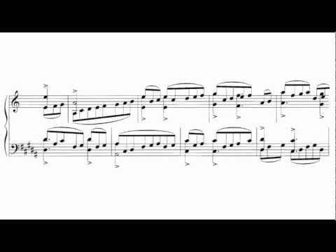 György Ligeti - Études for Piano (Book 1), No. 1 [1/6]