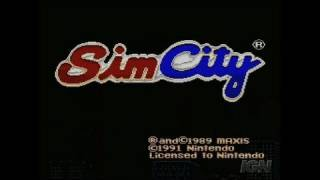 SimCity Nintendo Wii Clip - Challenge Mode