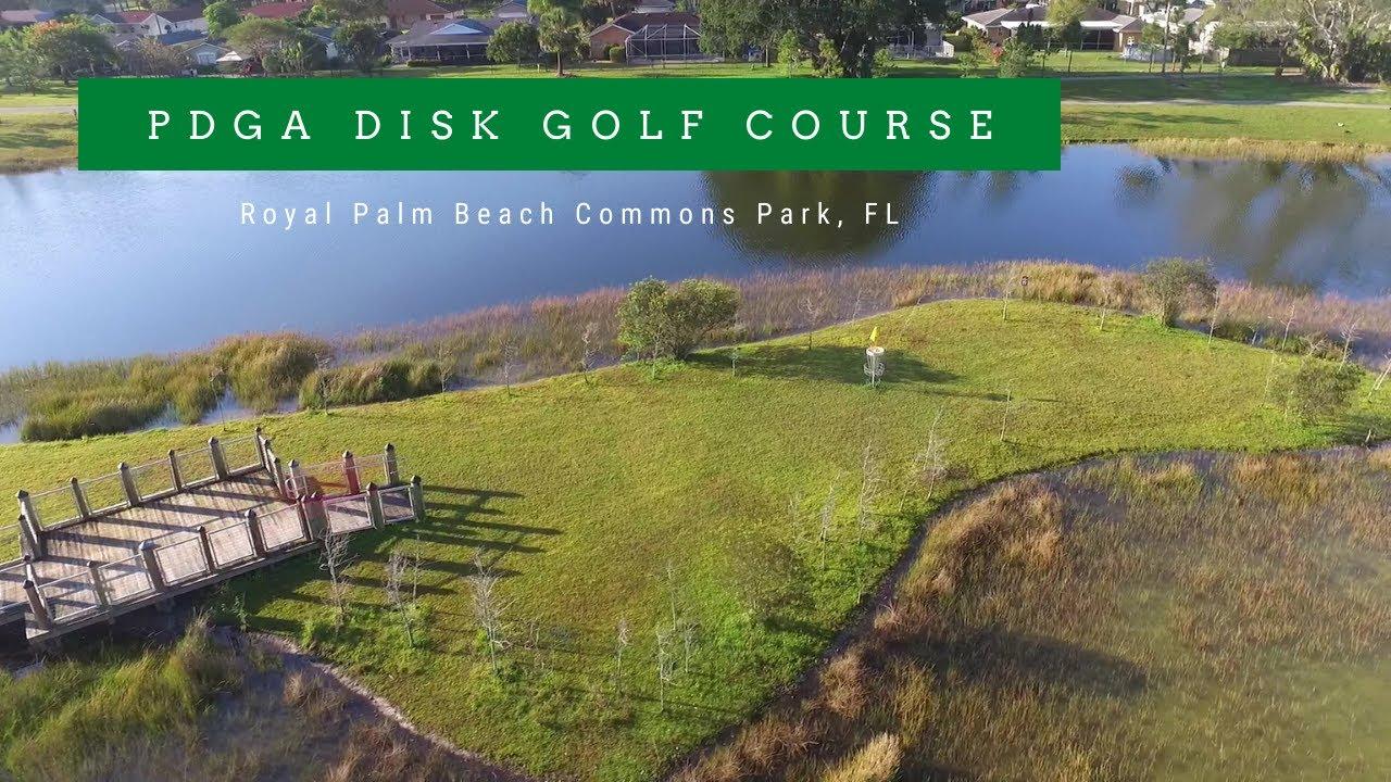 Disc Golf Course At Royal Palm Beach