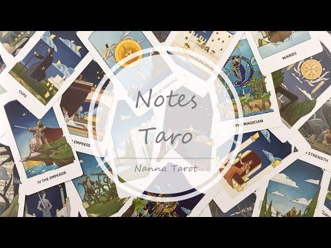 開箱  手記塔羅牌 • Notes Taro // Nanna Tarot