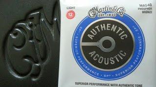 Martin MA540 strings-D28 Test