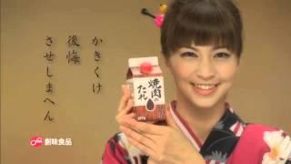 創味焼肉のたれCM安田美沙子 安田美沙子 動画 13