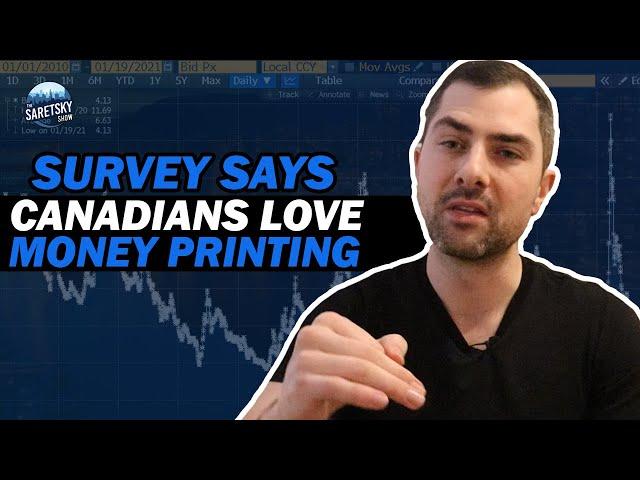 Survey Says Canadians Love Money Printing