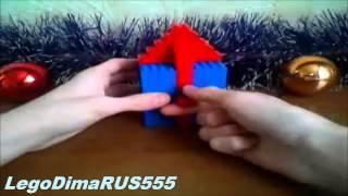 (Новогодний выпуск) Обзор лего новогодний диспенсер (V5) (RUS) / Review lego dispenser V5