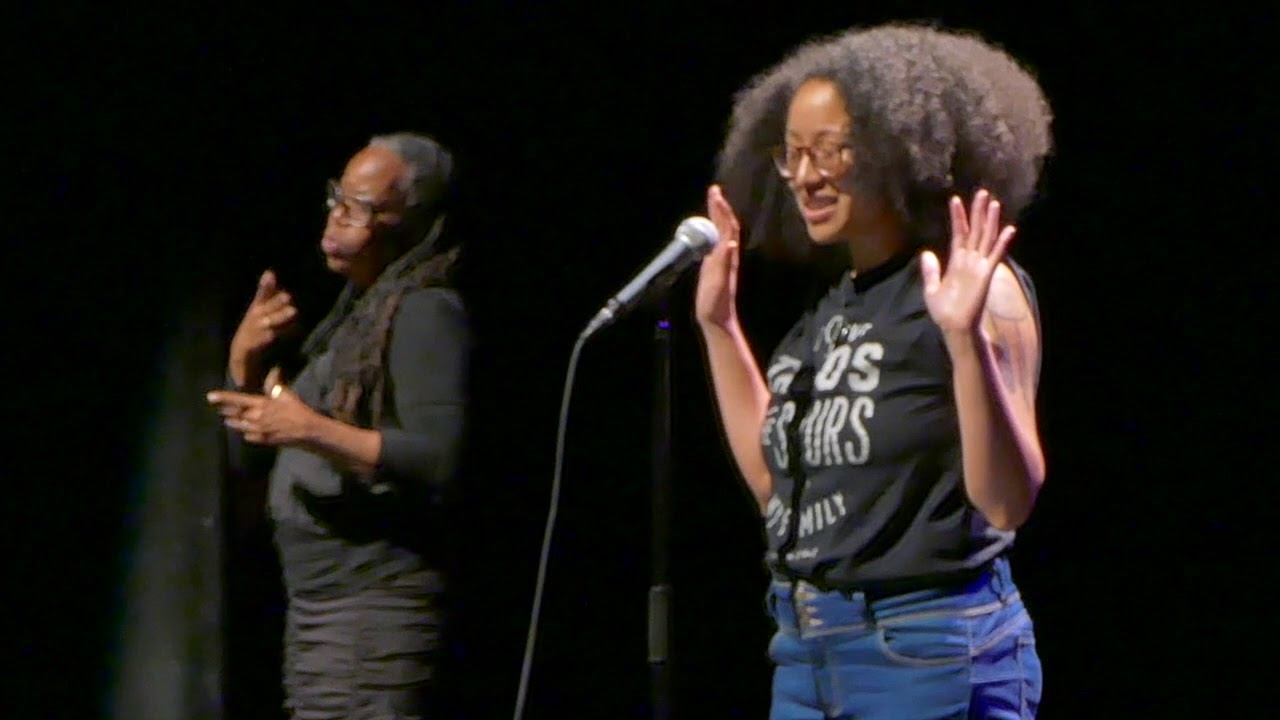"""Download 2018 Women of the World Poetry Slam - Ariana Brown """"Myself, First"""""""