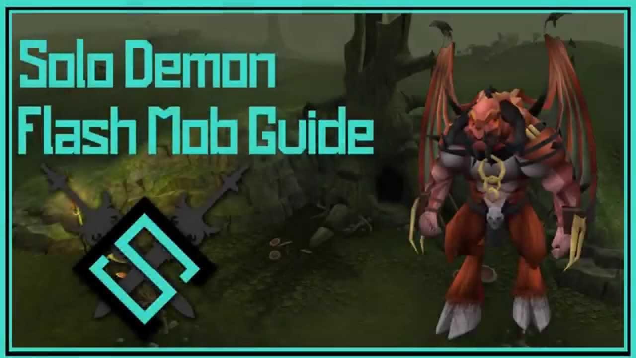 Runescape Solo Demon Flash Mob Guide Youtube