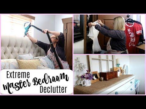 Extreme Master Bedroom Declutter & Deep Clean