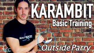 Great KARAMBIT DRILL To Start With - Filipino Martial Arts - Kali Eskrima Arnis - Awesome