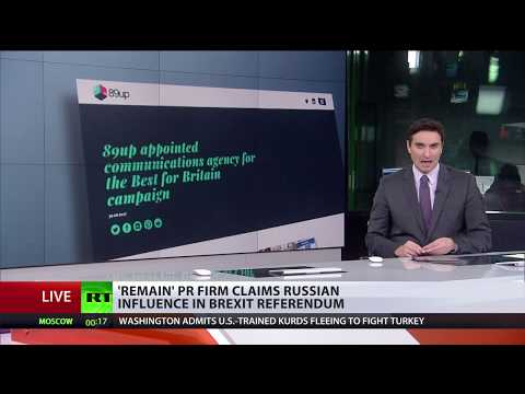 'Remain' PR firm claims Russian influence in Brexit referendum