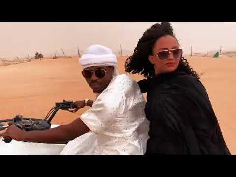 Umar M Shareef behind the scenes  zeenaru Yanda aka hada wakar zeena 2020 Dubai  360 X 360