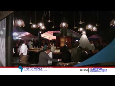 Shelter Afrique Symposium Cocktail 2014