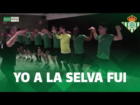 Cuando yo a la selva fui... 🐘🦍😂 ¡DESTERNILLANTE sesión de activación del Real Betis!