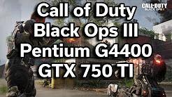 Call of Duty Black Ops III - Multiplayer - $350 Gaming PC - Pentium G4400 - GTX 750 TI