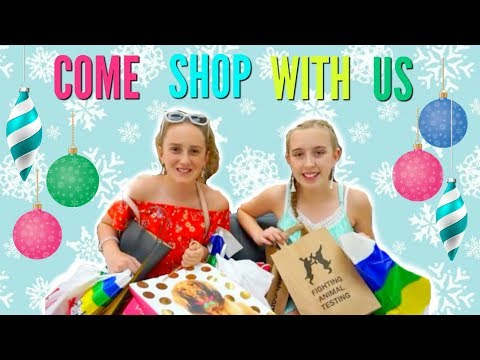 Christmas Shopping 2017 – Come Shopping With Me – Millie and Chloe