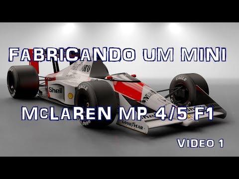 Fabricando um mini McLaren 5 -  1 - by Eduardo Duda Motta Channel