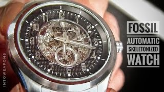 Fossil Watch Review:  Automatic Skeleton Watch