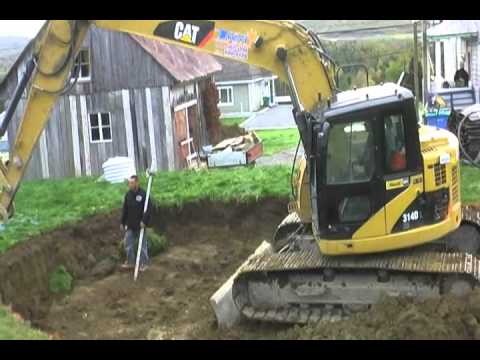 2011 excavation piscine creus e youtube for Piscine creusee