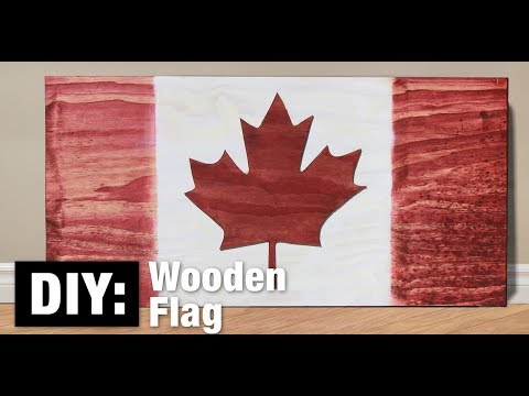 DIY: Wooden Flag