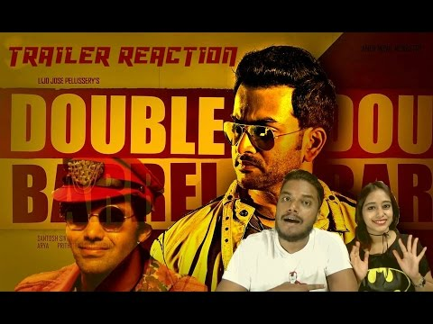 DOUBLE BARREL Trailer Reaction By Ronn & Neha   Prithviraj   Arya   MALAYALAM