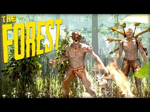 PLANE CRASH SURVIVAL! #7 (The Forest)