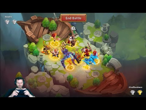 JT's Main Lost Battlefield Day 5 Tough Battles Road to 1500 Castle Clash