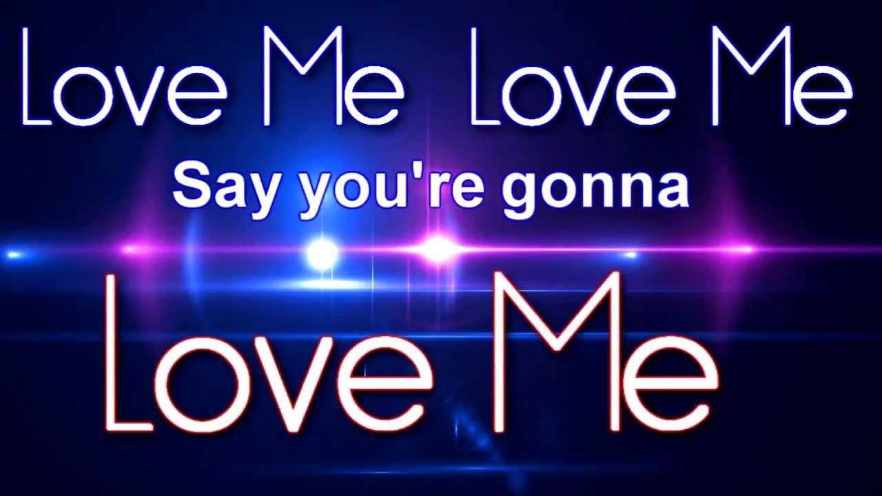 Big Time Rush - Love Me Love Me (Lyric Video) - YouTube