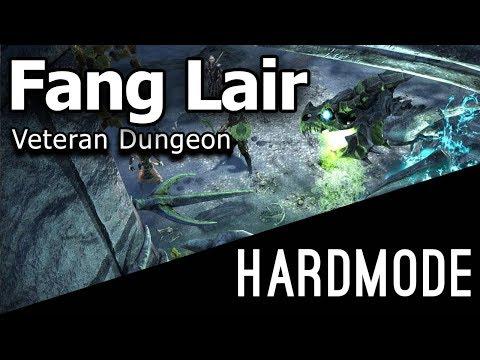 Fang Lair Hardmode Veteran Dungeon - Dragon Bones DLC ESO