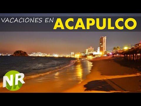 Vacaciones en Acapulco Guerrero 🏄 - Acapulco Beach -