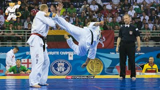 WKO EC 2016, Final -85 Valdemaras Gudauskas (Lithuania) - Marius Ilas (Romania)
